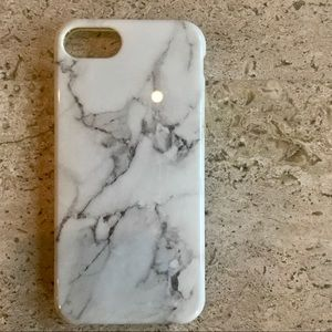 Brand New White Marble Silicone IPhone 7 C…